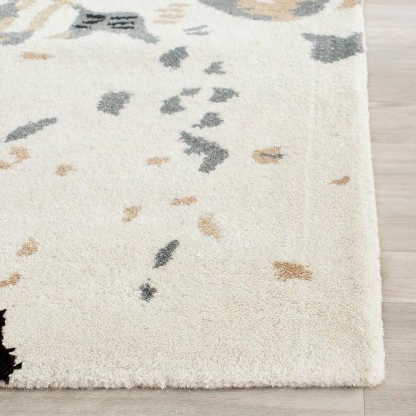 Vlněný koberec Lila, 121x182 cm