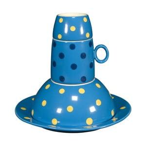 Dětská porcelánová sada Ramponi Baby Turquoise