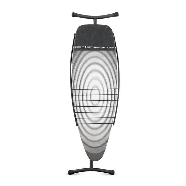 Žehlící prkno se sušákem 135x45 cm Black