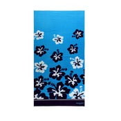 Osuška Blue Flowers, 75x150 cm