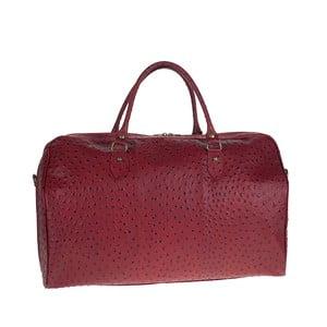 Vínová kožená kabelka Tina Panicucci Ganger
