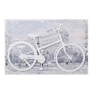 3D obrázek White Bike, 60x40 cm