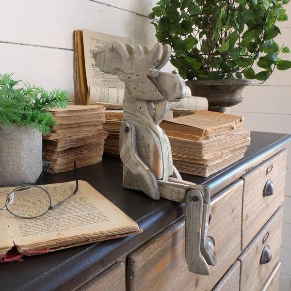 Dřevěná dekorace Orchidea Milano Pupper Reindeer