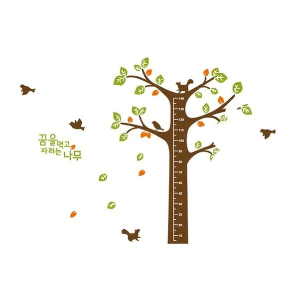 Samolepka na zeď Veverka u stromu