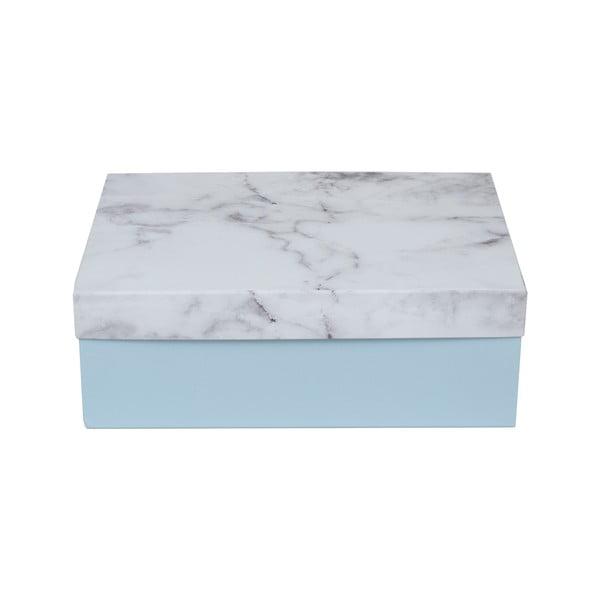 Sada 3 úložných krabic Stockholm Marble
