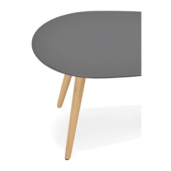 Sada 2 konferenčních stolků s černou deskou Kokoon Gosmi