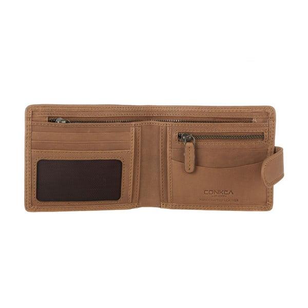 Kožená peněženka Theo Oak