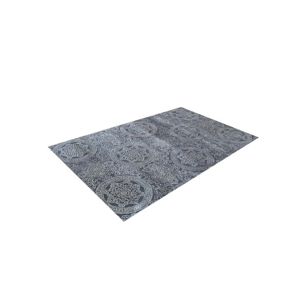 Ručně tkaný koberec Ring, 153x244 cm, šedý
