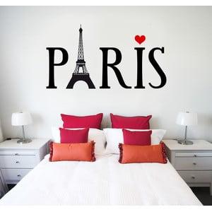 Samolepka na stěnu Paříž, 60x90 cm