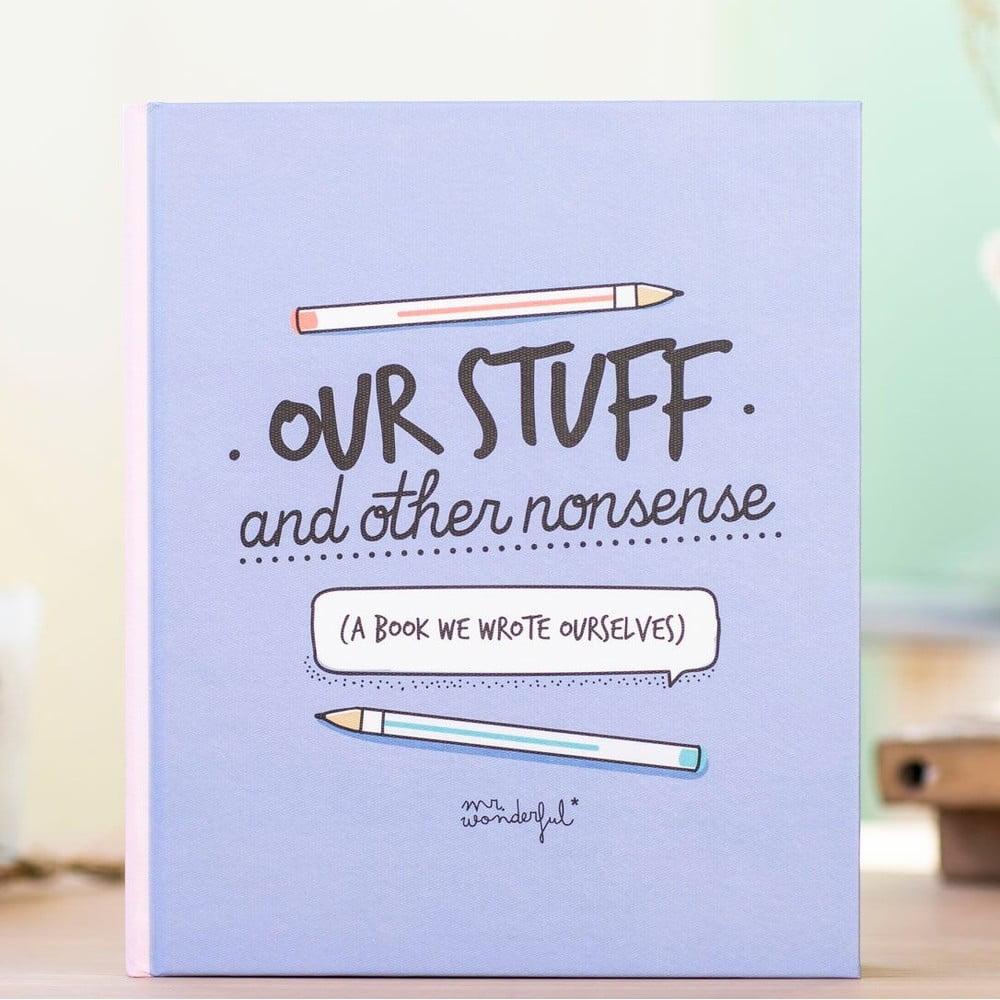 Herní kniha pro páry Mr. Wonderful Our Stuff