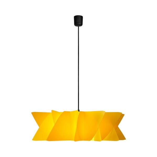 Závěsné svítidlo Diamond yellow/black