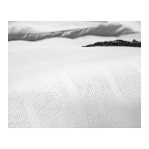 Bílé povlečení z mikroperkálu na jednolůžko Sleeptime Montreal,140x200cm