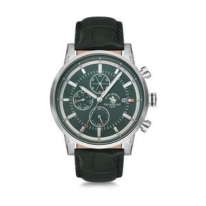 Pánské hodinky s koženým řemínkem Santa Barbara Polo & Racquet Club Trick