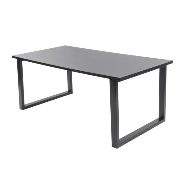 Černý konferenční stolek Leitmotiv Fushion