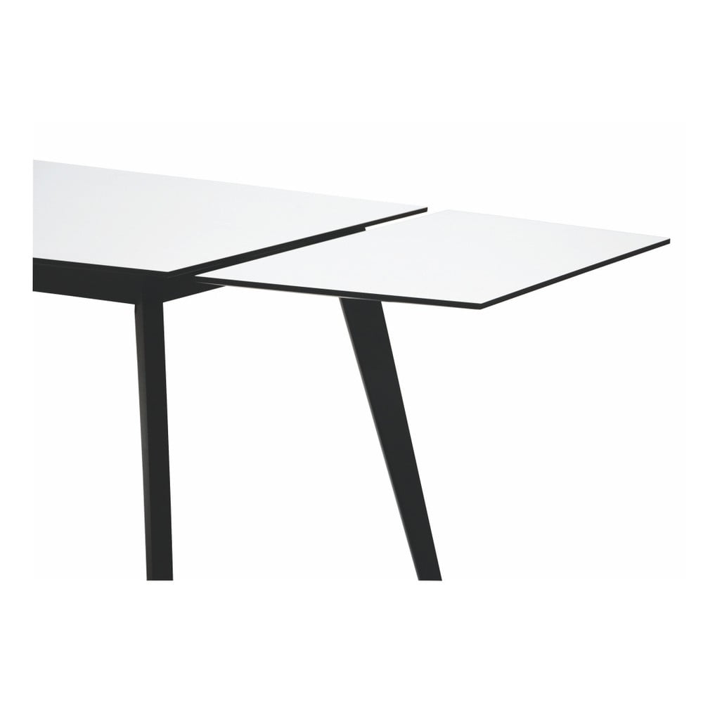 Černobílá přídavná deska k jídelnímu stolu Folke Ehcidna