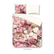 Povlečení z mikrovlákna Good Morning Pure Roses, 140x200cm