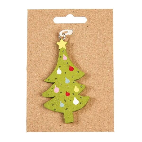 Decorațiune din lemn pentru pomul de Crăciun Rex London Tree