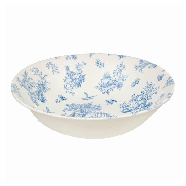 Hluboký talíř Churchill China Toile Blue de Jardin, 20 cm