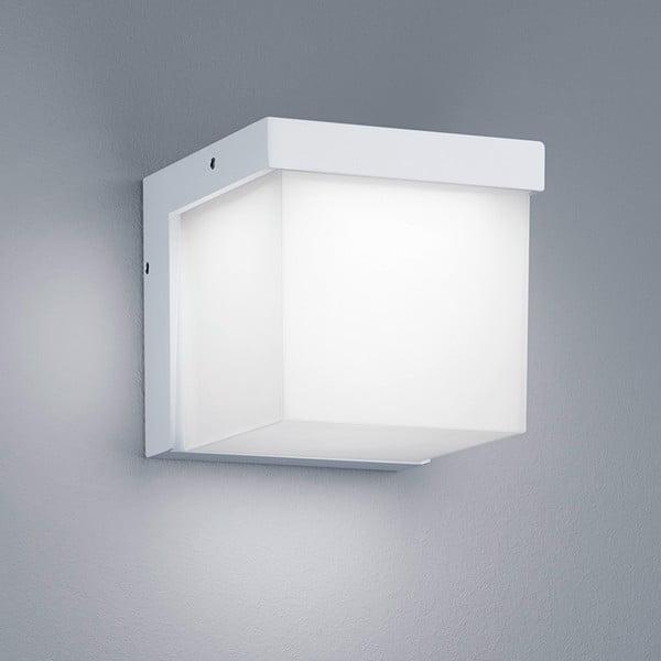Venkovní nástěnné světlo Yangtze White, 12 cm