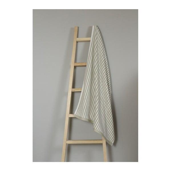 Olivově zelený bavlněný ručník My Home Plus Bath, 75 x 135 cm