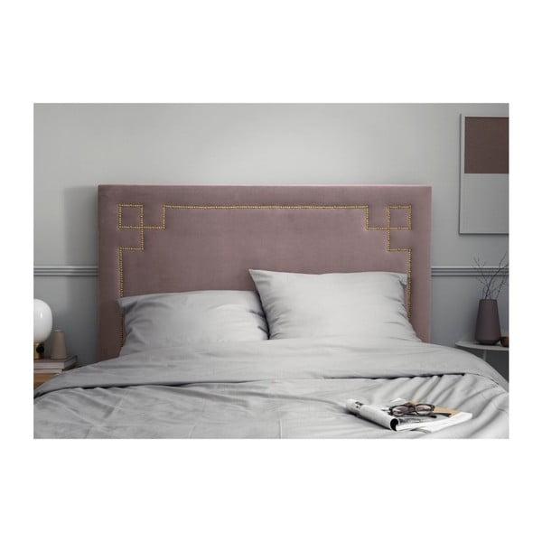 Levandulově fialové čelo postele THE CLASSIC LIVING Nicolas, 120 x 200 cm