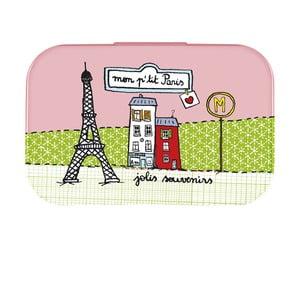 Krabička na drobnosti P'tit Paris, rose/vert