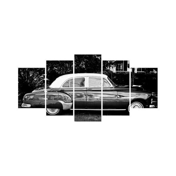 Vícedílný obraz Black&White no. 35, 100x50 cm
