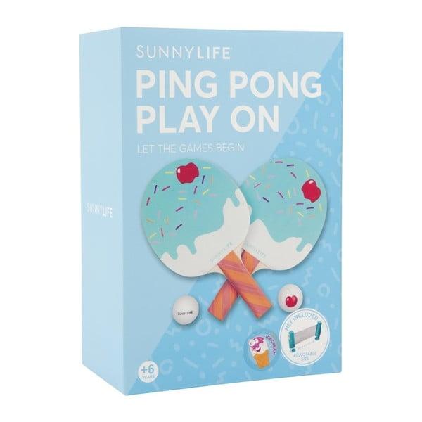 Sada na ping pong Sunnylife Ice Cream