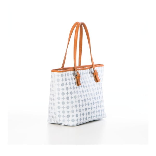 Kožená kabelka Margherita White