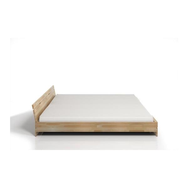 Pat dublu din lemn de fag SKANDICA Sparta, 200 x 200 cm