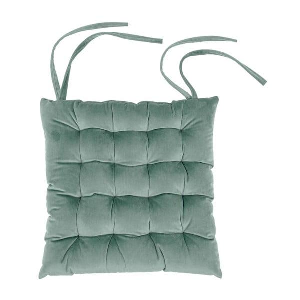 Jasnozielona poduszka na krzesło Tiseco Home Studio Chairy, 37x37 cm
