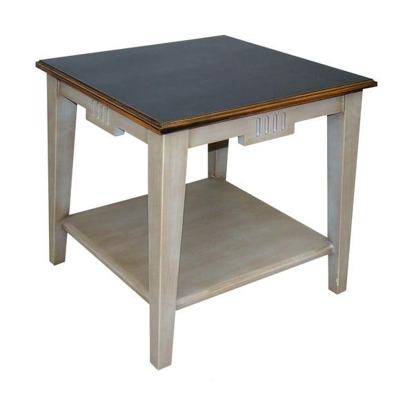 Kávový stolek Transilvania Black Top Belgique Grey
