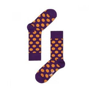 Ponožky Happy Socks Big Orange Dots, vel. 41-46
