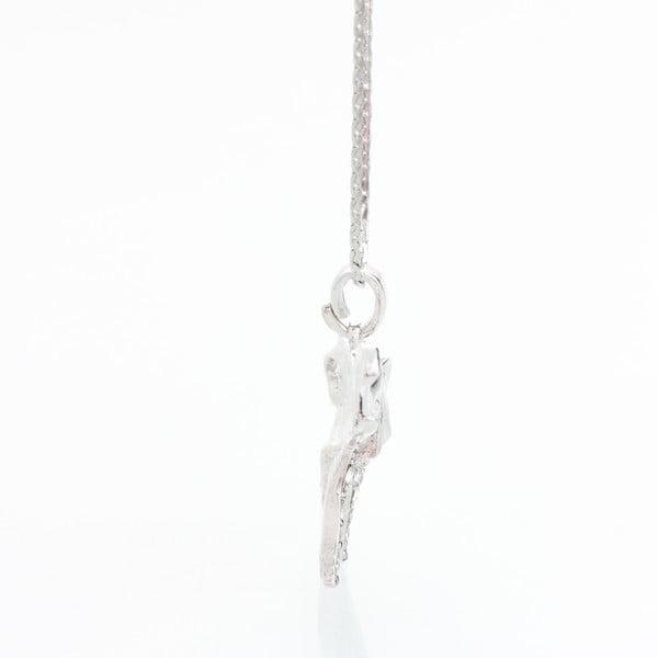 Náhrdelník s krystaly Swarovski Elements Laura Bruni Elephant