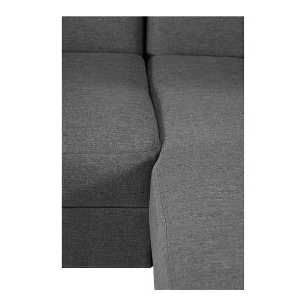 Šedohnědá sedačka Interieur De Famille Paris Bijou, pravý roh