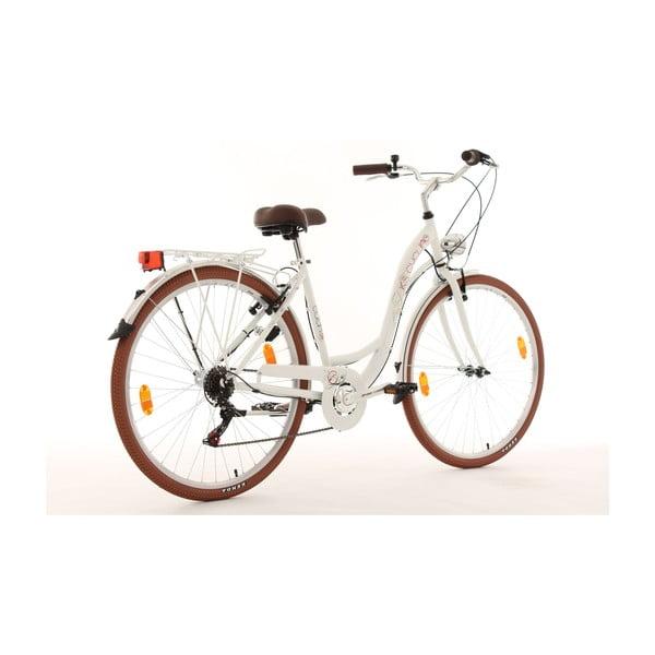 """Kolo Eden Bike White, 28"""", výška rámu 48 cm"""