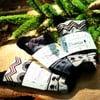 Sada bambusových ponožek PromiseClo, béžové M až L