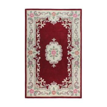 Covor din lână Flair Rugs Aubusson Red, 160 x 230 cm de la Flair Rugs
