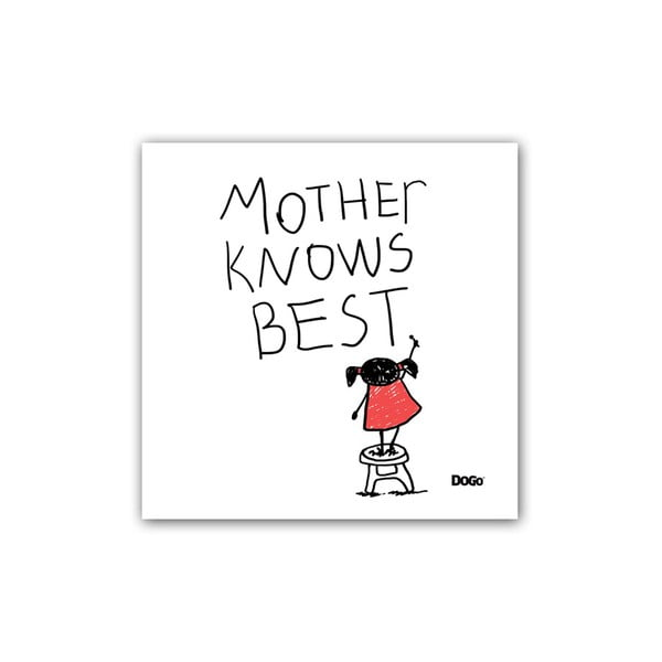 Polštář Mother Knows Best