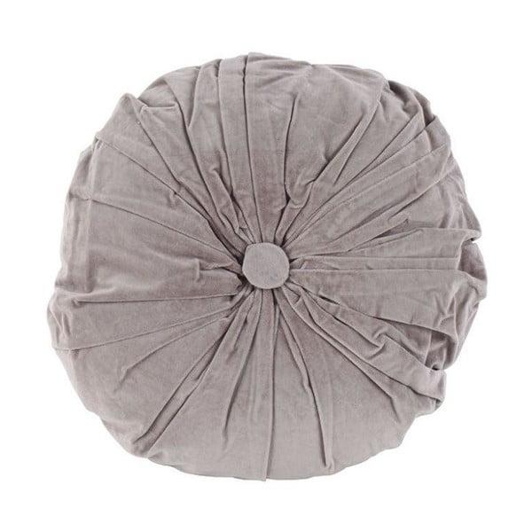 Polštář Gray Velvet, 42 cm z kavárny U Kubistů