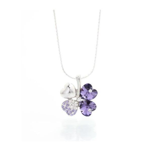 Náhrdelník Yasmine Floral Purple