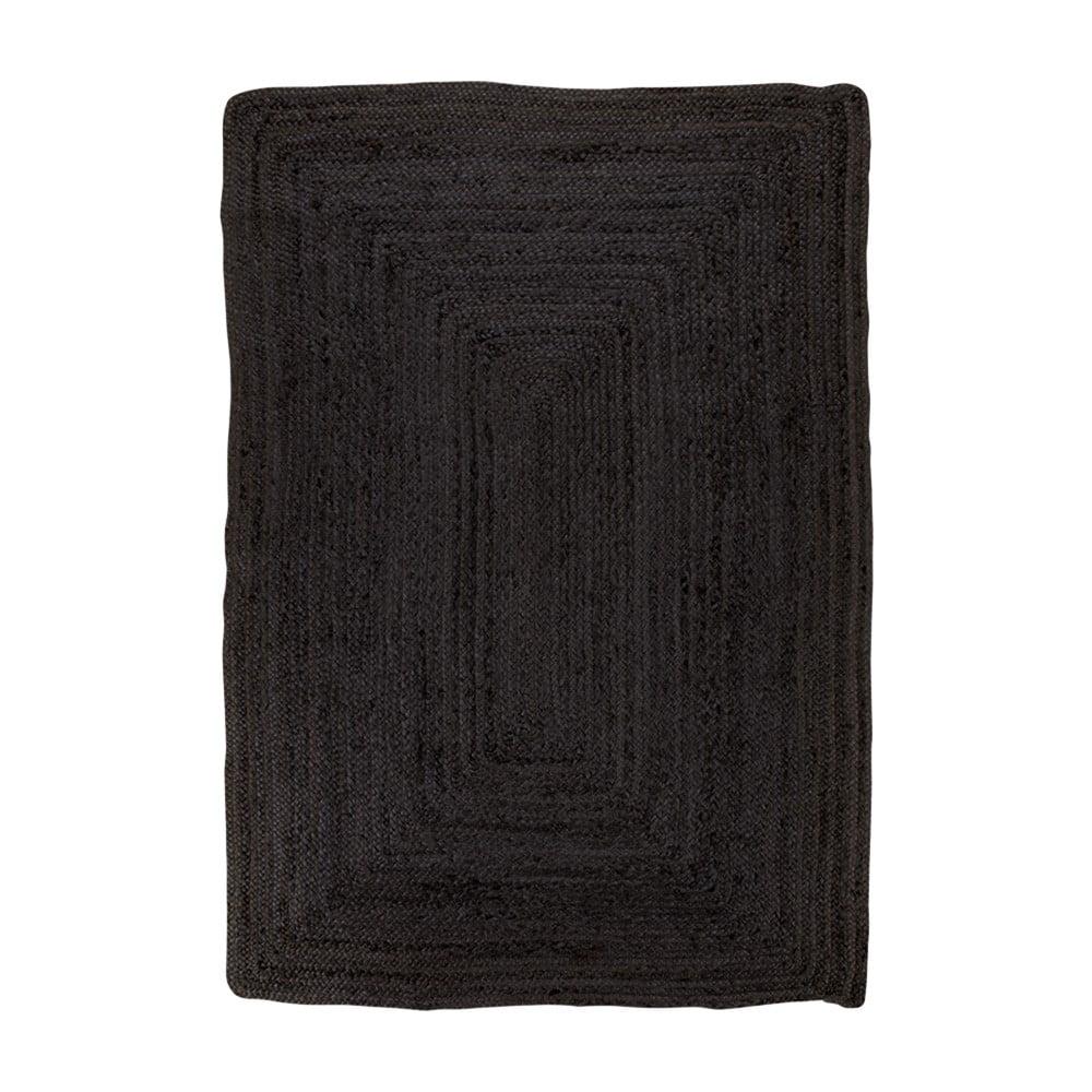 Černý koberec House Nordic Bombay Rug, 180 x 120 cm