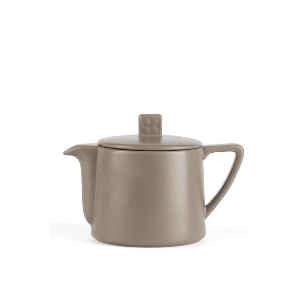 Šedohnědá konvice se sítkem na sypaný čaj Bredemeijer Lund, 500 ml