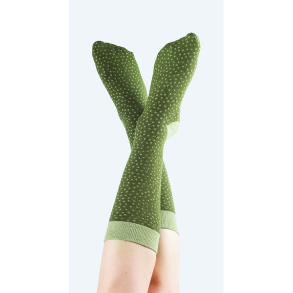 Zielone skarpetki DOIY Cactus Mammillaria, rozm. 37-43