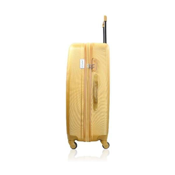 Set 3 cestovních kufrů Golden Stripes