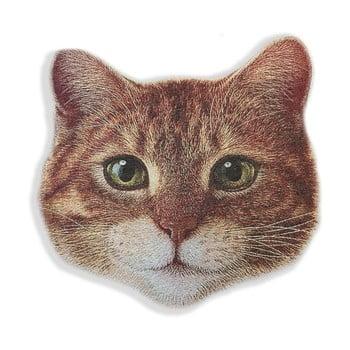 Pernă decorativă din microfibră Really Nice Things Cat Face de la Really Nice Things
