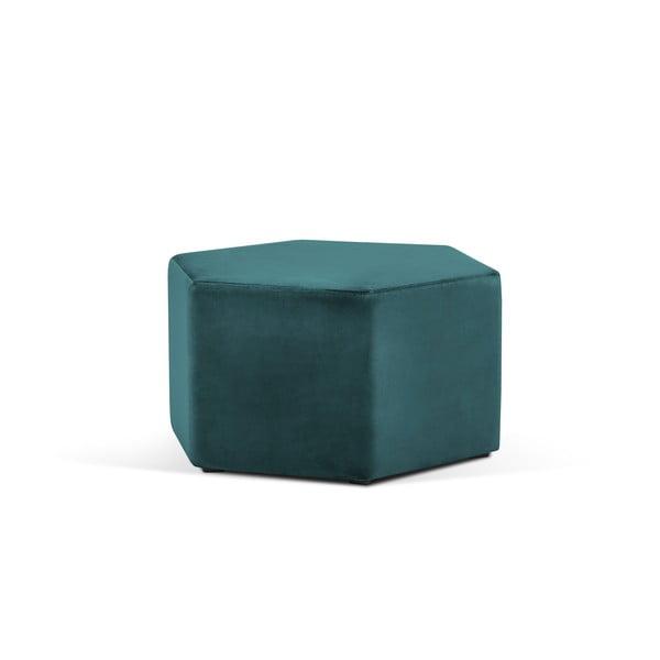 Marina petróleumzöld puff, ⌀ 80 cm - Milo Casa