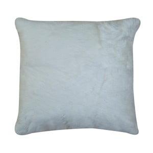 Bílý polštář z králičí kůže Pipsa Natural, 40x40cm