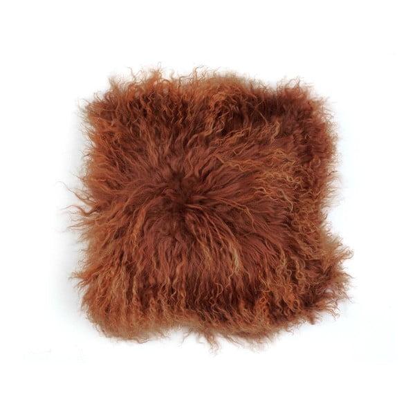 Kožešinový polštář Tibetian Taule, 50x50 cm