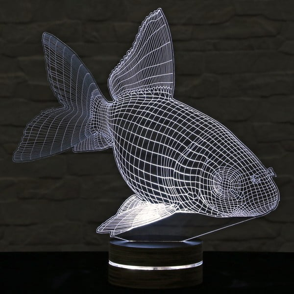 3D stolní lampa Fish Joe